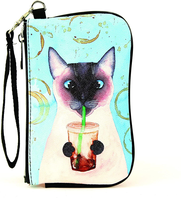 Sleepyville Critters - Caffeine Addicted Cat Wristlet