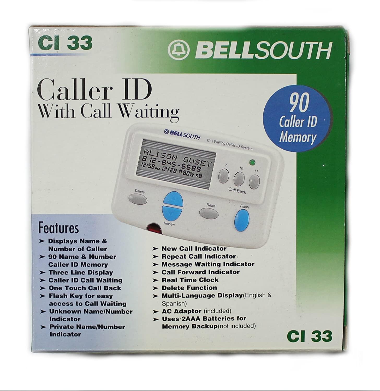 BELL SOUTH CI33 Adjunct Type 2 Caller ID