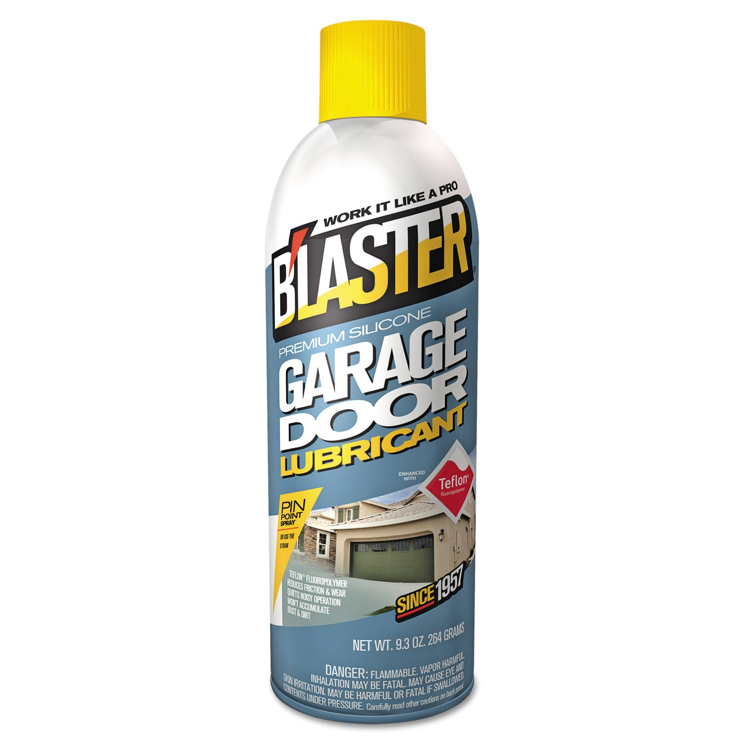 Blaster 16-GDL Garage Door Lubricants, 11 oz, Can (Pack of 12)