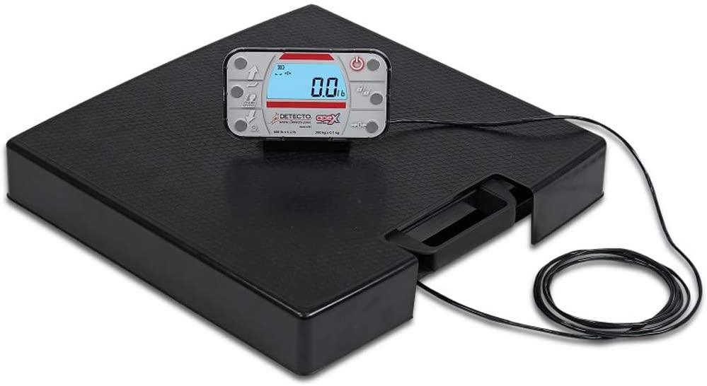Detecto APEX Bluetooth/Wi-Fi Scale w/Remote Indicator & AC Adapter