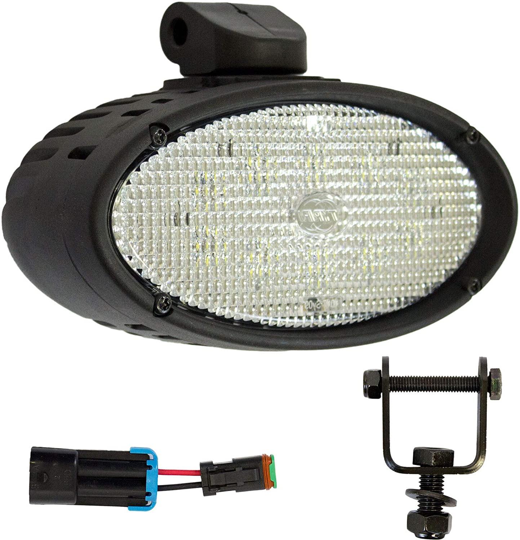 K&M 039-3072 KM 1017 JD 7000-7010, 8000-8010, 8000T-8010T Series LED Roof Light Kit, 3500 lm