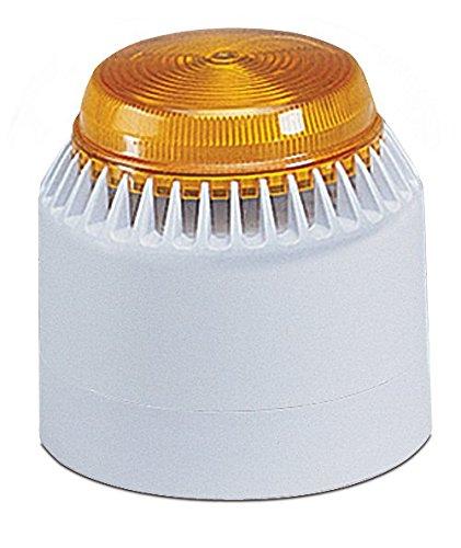 Federal Signal LP7-18-30A Streamline Low Profile Combination Sounder/Strobe, 18-30 VDC, Amber
