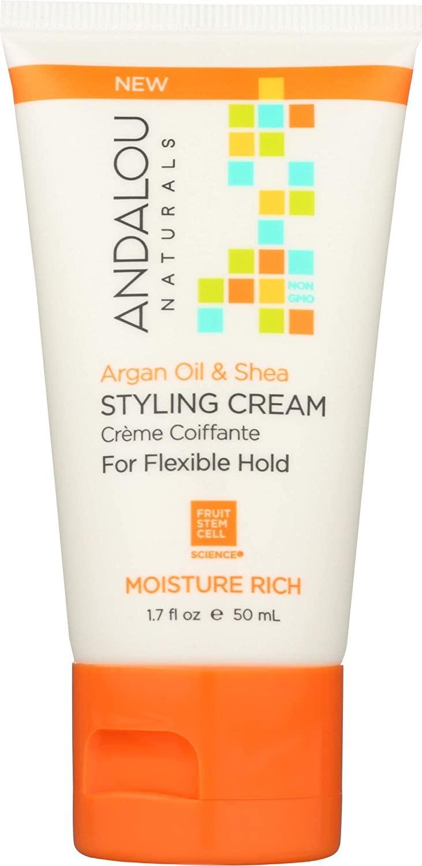 Andalou Naturals, Styling Cream Argan Oil And Shea, 1.69 Fl Oz