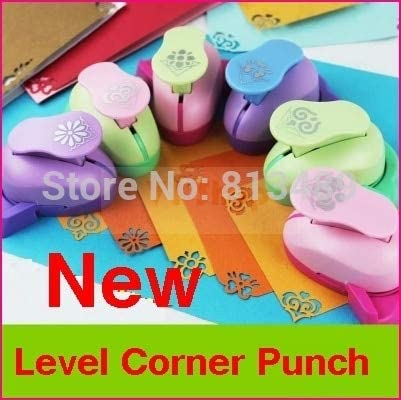 Clips 8pcs/lot Paper Punch Hole Punch Shapes Cutter Paper Corner Punch DIY Craft Punch Arts and Crafts Supplies k589