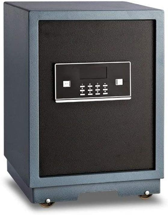 ROBDAE Security Safe Box Small Home Office Wall-Mounted Electronic Password Lock Safe Deposit Box Safe Home Keypad Safe (Color : Picture Color, Size : 57x38x36cm)