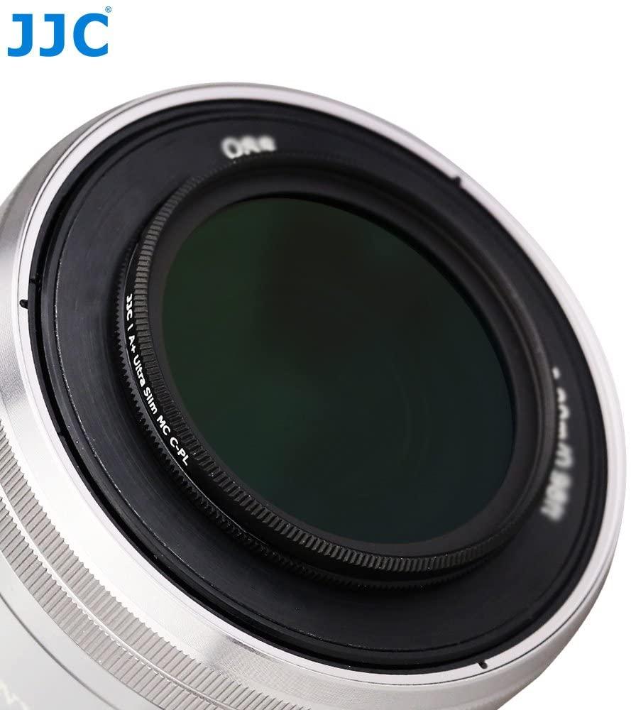 JJC F-CPL49 CPL Circular Polarizer Filter Ultra Slim 49mm for Camera DSLR Lens