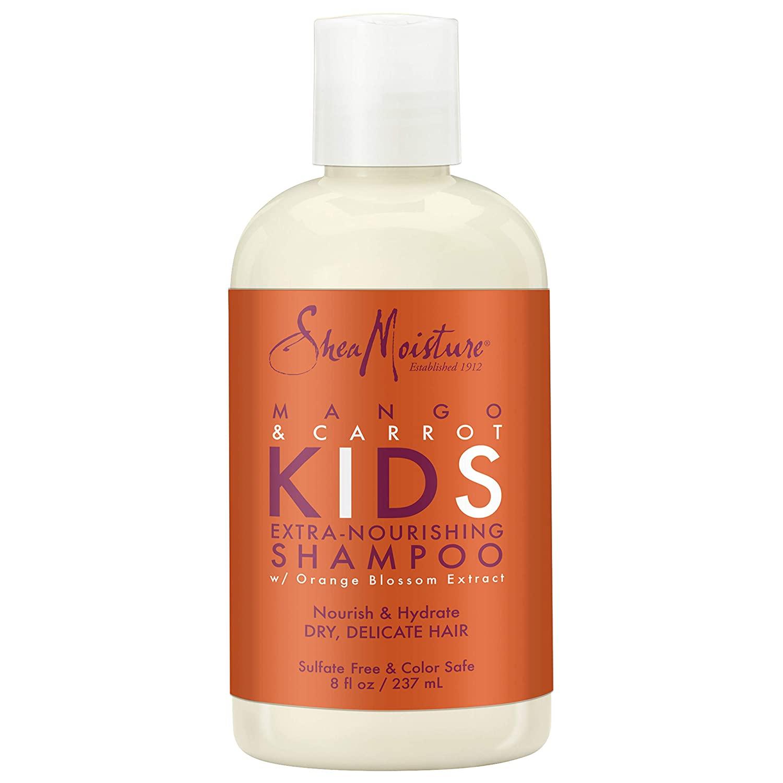 SheaMoisture Kids Mango & Carrot Extra-Nourishing Shampoo, 8 Fluid Ounce