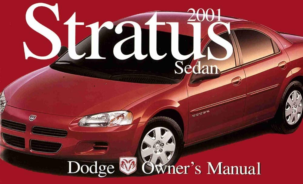 bishko automotive literature Owners Manual User Guide for 2001 Dodge Stratus