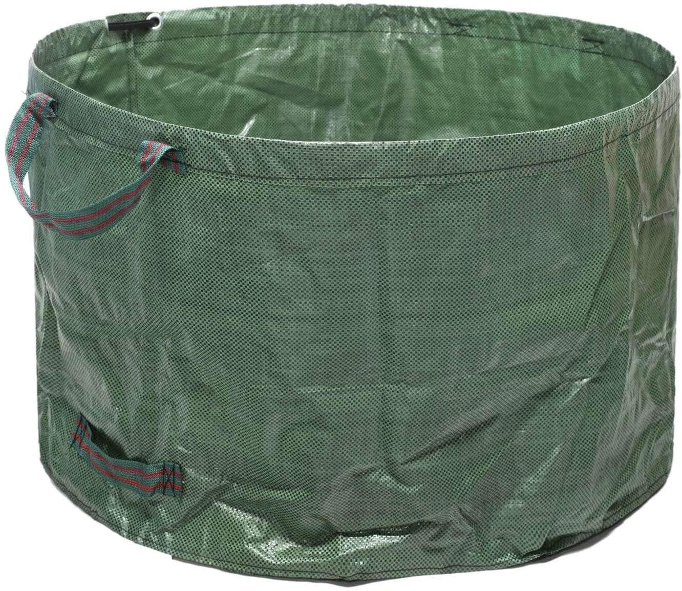 Zxcv Bulk Bags Garden Waste Bags Reusable and Collapsible Lawn Leaf Container 63 Gallons