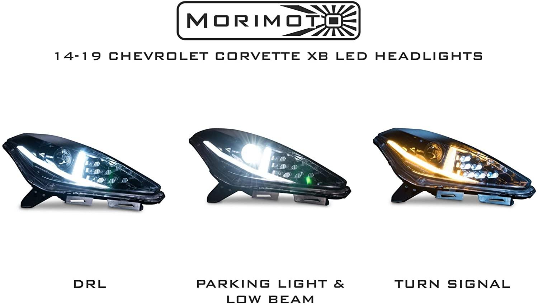 2014-2019 C7 Corvette Morimoto Aventador-Style Bi-LED Headlights
