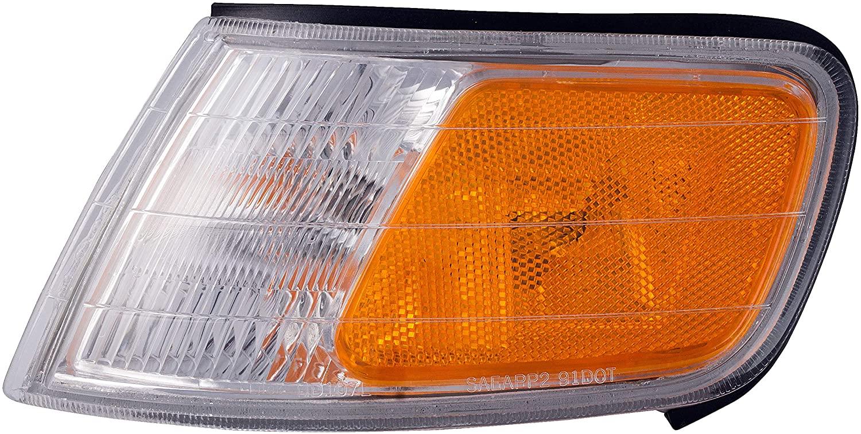 Dorman 1630664 Front Driver Side Turn Signal / Parking Light Assembly for Select Honda Models