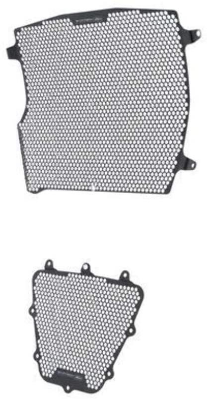 Evotech Performance Radiator & Oil Cooler Guard Kit to fit Ducati XDiavel & XDiavel S. Years 2016 to 2020. PRN013089-013090