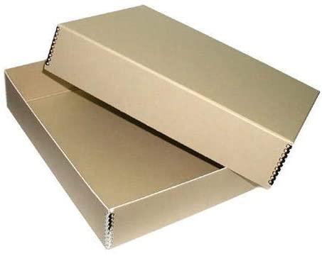 Adorama 17x22 Print Storage Box, Drop Front Design, 17 1/2x22 1/2x1.5