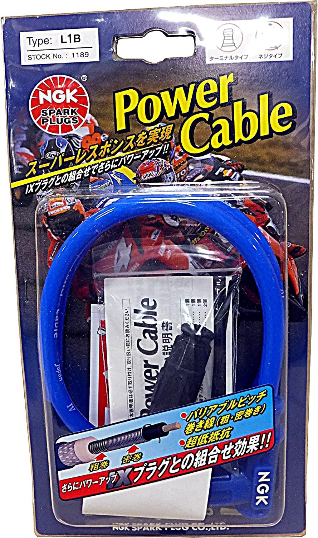 NGK Spark Plug Co., Ltd. plug cord power cable Blue / Blue L1B 1189