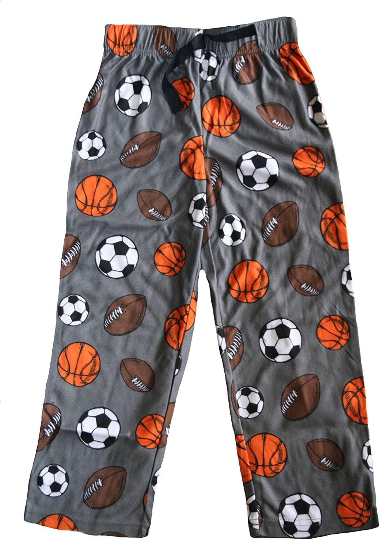 Jellifish All Sports Little Boys' Microfleece Lounge Pants
