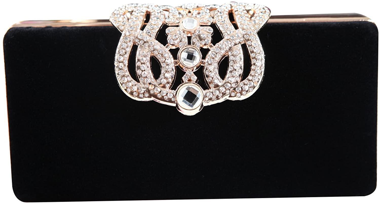 Generic Womens Evening Cocktail Wedding Party Handbag Clutch Purse Wallet