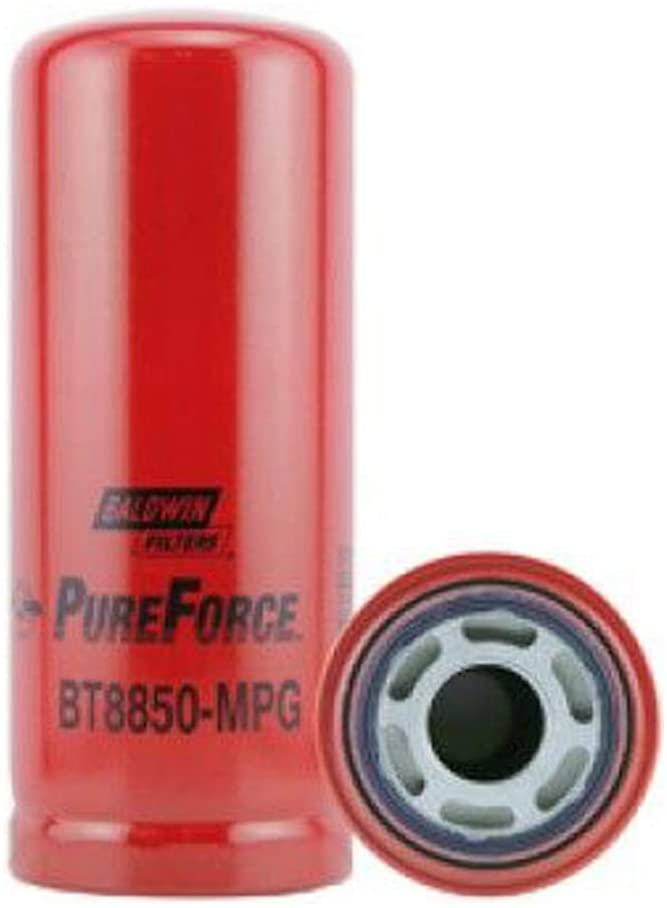 Baldwin Heavy Duty BT8850-MPG Hydraulic Filter,3-3/4 x 9-17/32 In