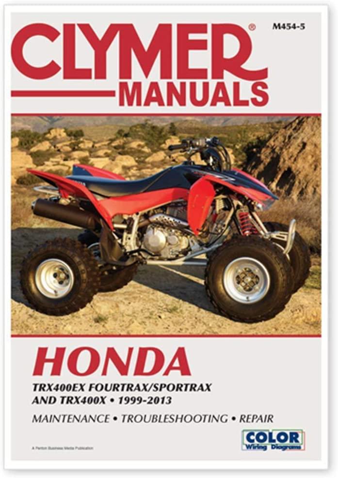 Clymer Manuals CLYMER HONDA TRX400EX 99-13 M454-5