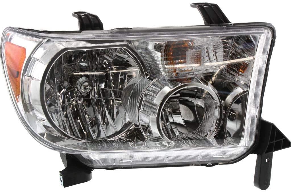 For Toyota Tundra Headlight 2007-2013 Passenger Side w/o Level Adjuster TO2503171   811100C051