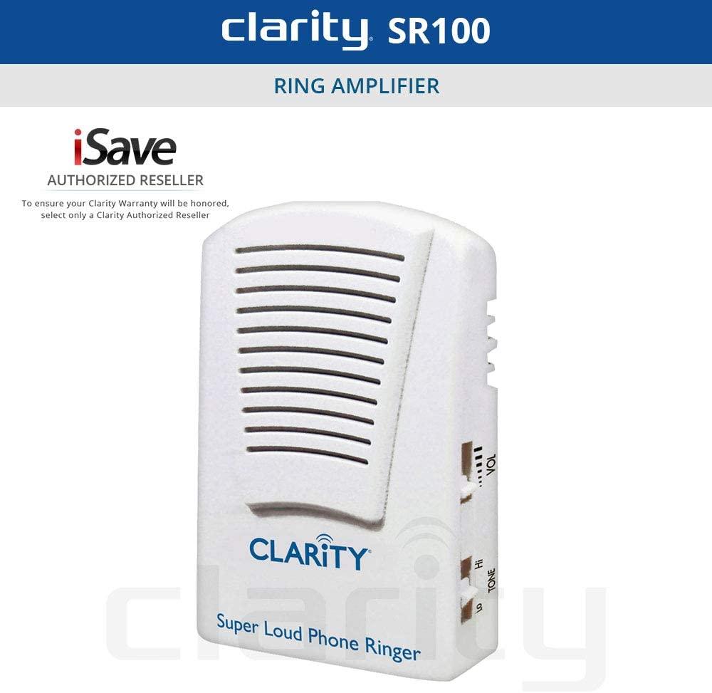 CLAR55173 - CLARITY 55173.000 Super-Loud Telephone Ringer