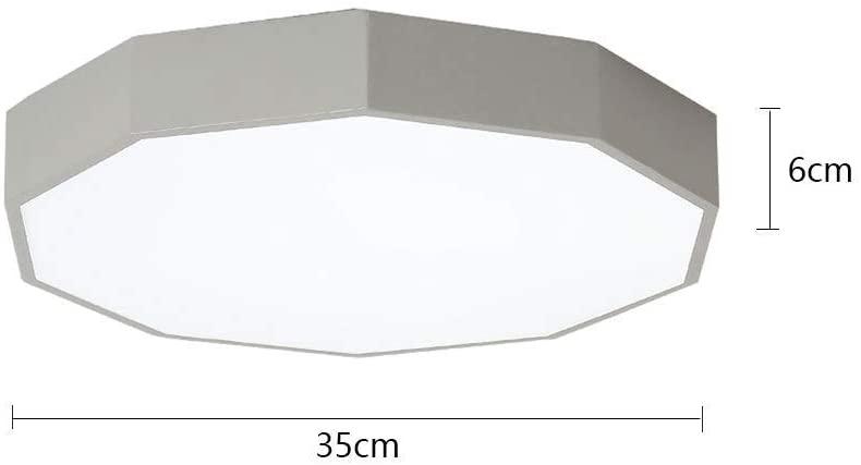 KMMK Home Bedroom Ceiling Light,Ceiling Light, Geometric Led Ceiling Lamp Macaron Ultra-Thin Ceiling Lamp Creative Living Room Lighting Restaurant Study Ceiling Lamp Personality Bedroom Lamp