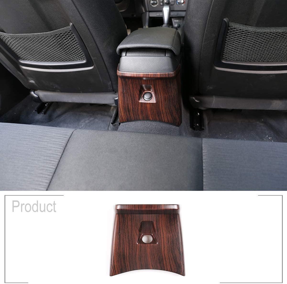 TongSheng Pine Wood Grain and Back Wood Grain for BMW X1 E84 2010-2015 ABS Car Rear Row Air Vent Panel Cover Trim Accessories (Pine Wood Grain)