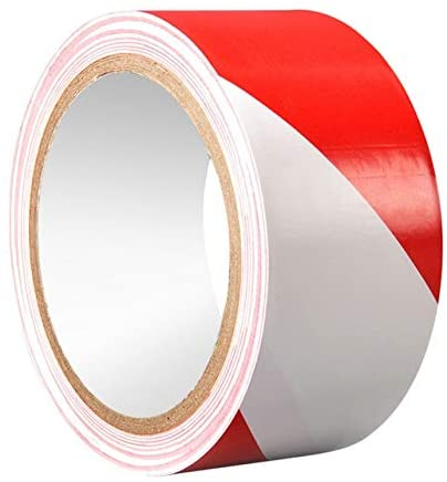 Xennos Tape - Non Slip Safety Grip Tape Strong Adhesive Safety Traction Tape PVC Warning Tape Stairs Floor Indoor Outdoor Remind Stickers - (Color: Red)