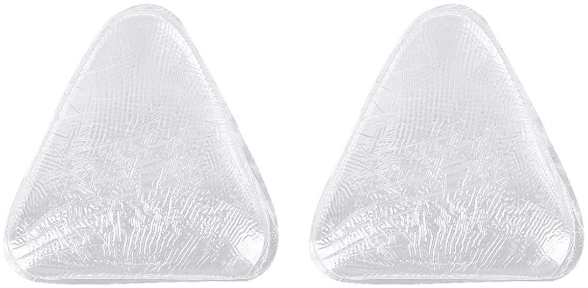 iiniim Waterproof Triangle Silicone Bra Pads Inserts Breast Enhancer for Bikini Padding