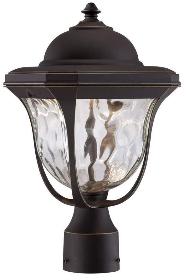 Designers Fountain LED21936-ABP Marquette 8 Inch Led Wall Lantern