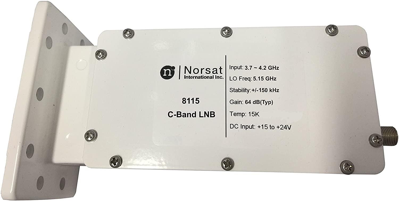 Norsat LNB 8115F C-Band DRO