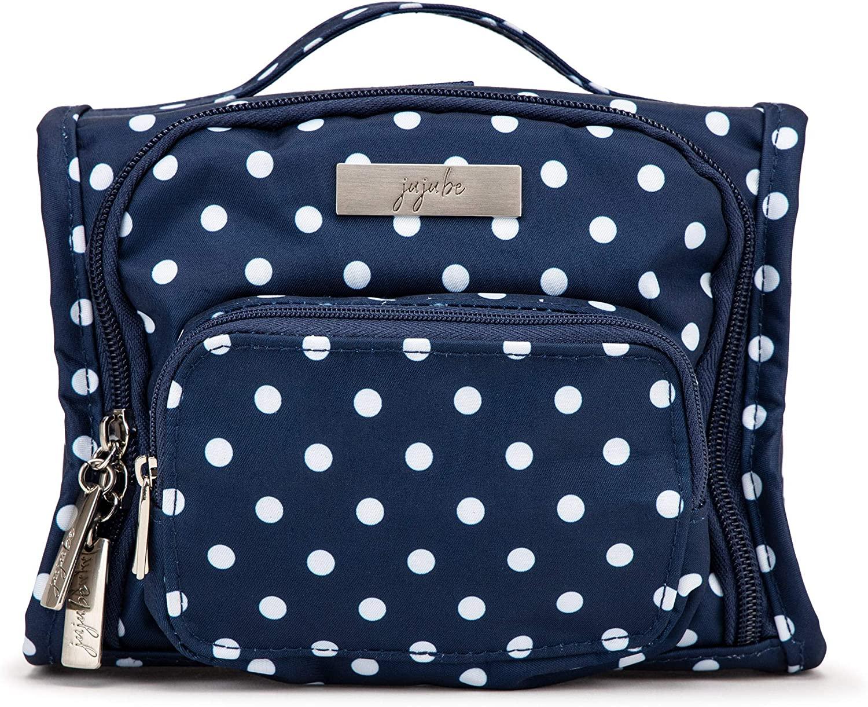 JuJuBe Mini BFF Kids Backpack   Multi-Functional Convertible, Everyday Messenger Bag   Travel-Friendly, Stylish Diaper Backpack   Navy Duchess