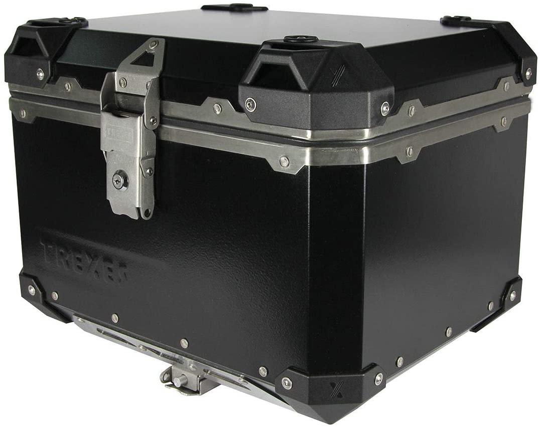 Trex Aluminum 45 Lt Top Case BLACK
