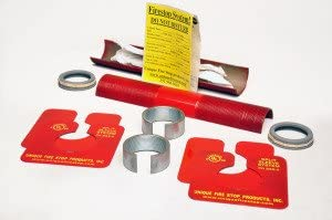 "Unique Fire Stop Products- SSS-2 Split Sleeve Firestop System- UL Classified for up to 4 hours- 2"" diameter"