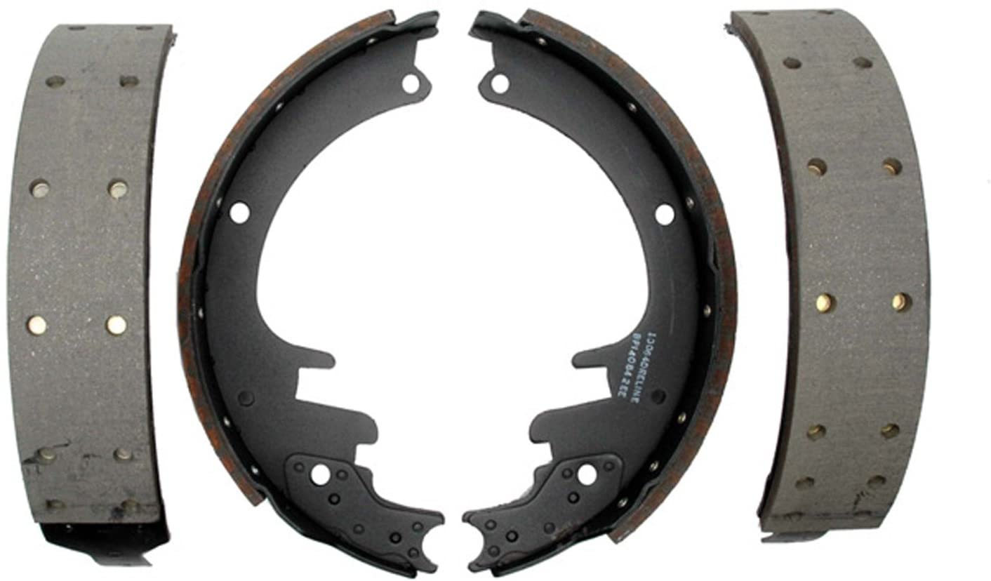 ACDelco 14451R Advantage Riveted Rear Brake Shoe Set