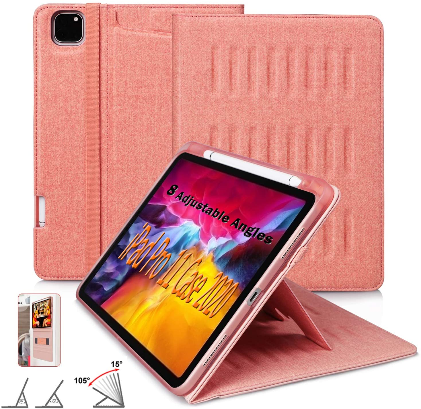 New Model The Alpha Case for 2020 iPad Pro 11 inch - Ultra Slim Protective Case - Wireless Apple Pencil Charging - Convenient Magnetic Stand & Sleep/Wake Cover