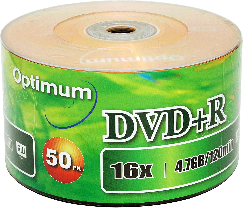 Optimum DVD+R 16x 4.7GB / 120min 50pk