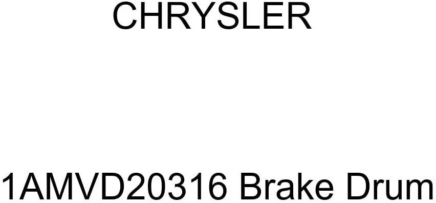 Genuine Chrysler 1AMVD20316 Brake Drum