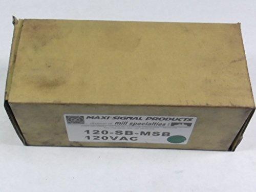 Maxi Signal 120-SB-MSB-G Steady Burn LED Medium Base 120V AC Green