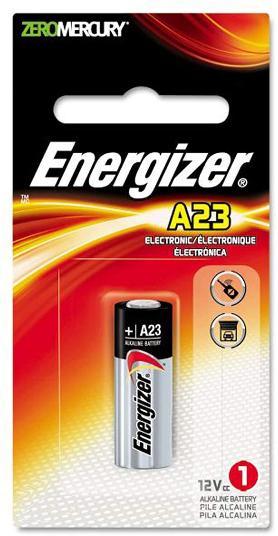 Energizer 12V Alkaline Batteries A23BP Replaces 1811A, 23A, 8F10R, 8LR32, 8LR932, A21, A23, BAT012, E23A, EL12, GP23A, K23A, L1028, LRV08, MN21, MN23, MS21, N21, N21, RV08, RVO8, S21, V23GA, VR22