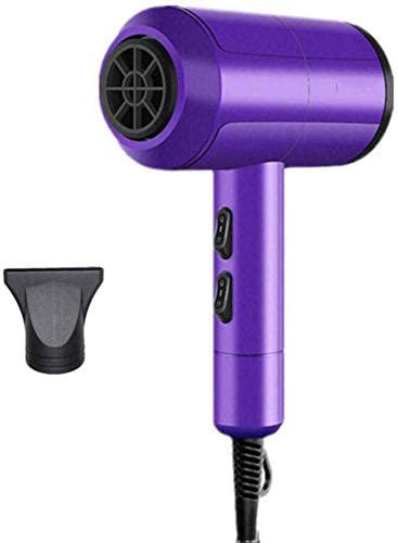 Hair Dryer, 2000W Professional Salon Hair Dryer, Negative Ionic Hair Blow Dryer, Ac Motor Low Noise Hair Dryer, with Concentrator, with 3 Heat 2 Speed,for Household,A