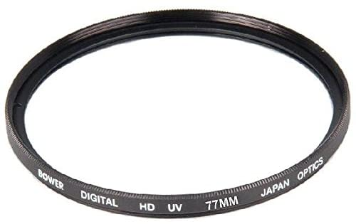 Bower 77mm UV Lens Filter for Sigma 85mm F1.4 EX DG HSM Lens, Sigma 50mm F1.4 DG HSM Lens, Sigma 28mm F1.8 EX Aspherical DG DF Lens, Sigma 24mm f/1.4 DG HSM Art Lens, Sigma 17-50mm f/2.8 EX DC OS Lens