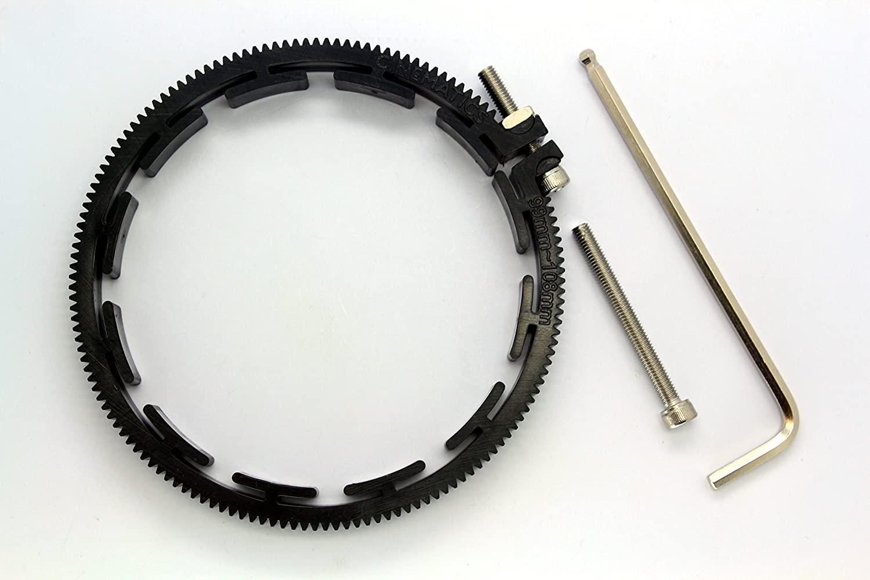 Cinematics Follow Focus Gear Ring Belt 99-108mm for DSLR Lens Pro Mod 0.8 Black New