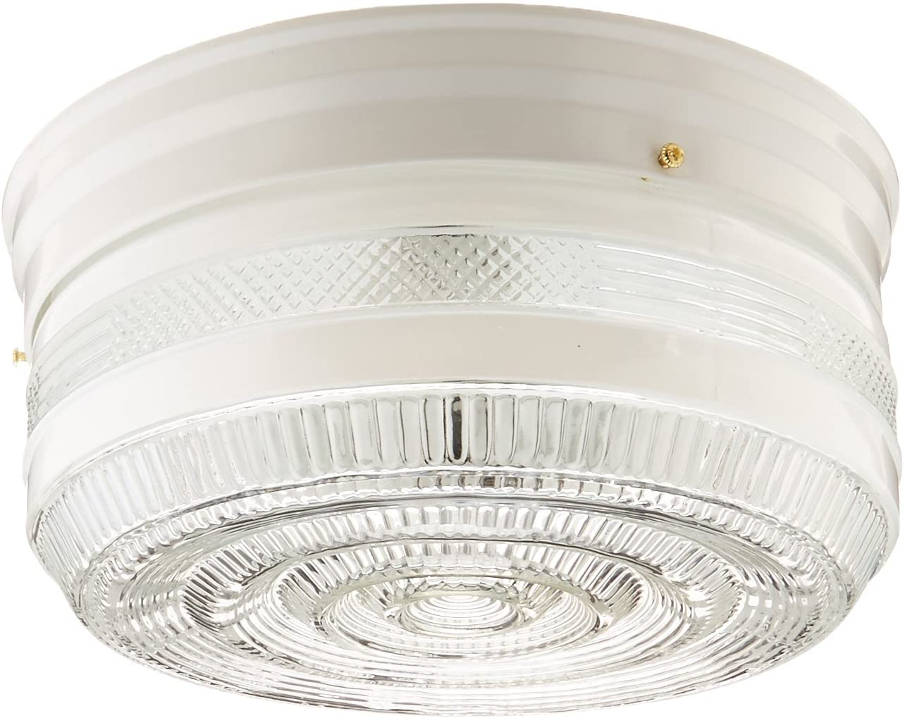 Boston Harbor F15WH02-10043L 7022049 Dimmable Ceiling Light Fixture, (2) 60/13 W Medium A19/Cfl Lamp, White