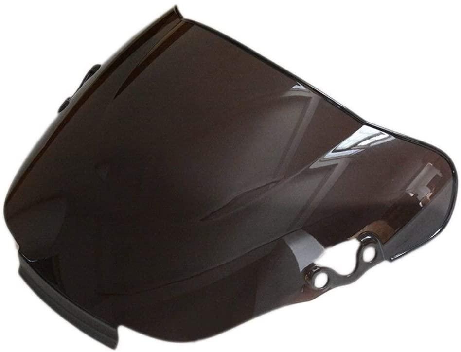 Logo Motorcycle Smoke ABS Windshield WindScreen Double Bubble Fit for Honda CBR600 F2 1991 1992 1993 1994 Spoiler