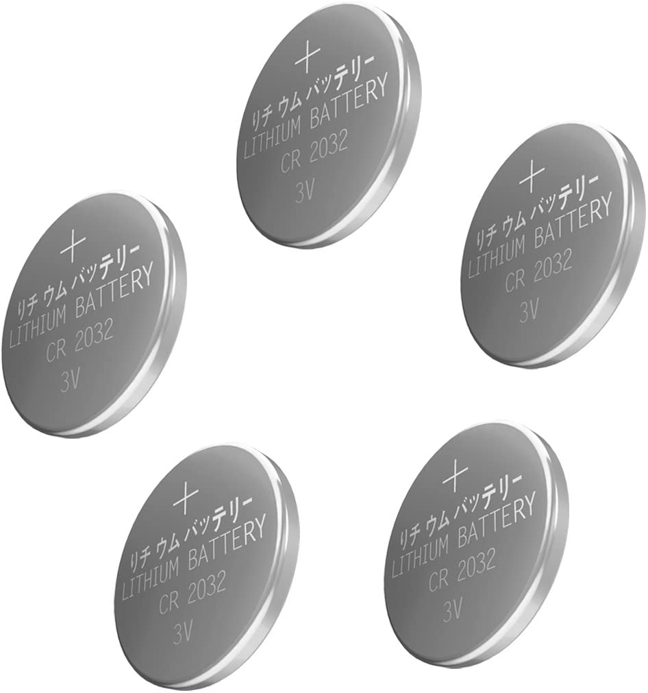 Esonstyle 30pcs CR2032 Lithium Battery 3V CR 2032 Coin Cell 210mAh Bulk