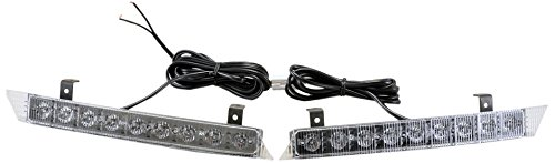 North American Signal GLED9000-A LED Curved Grill Light Pair, Blue