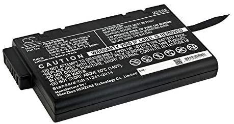 Rechargeable Battery for JDSU Replacement for JDSU LI202S-6600, LI202S66A