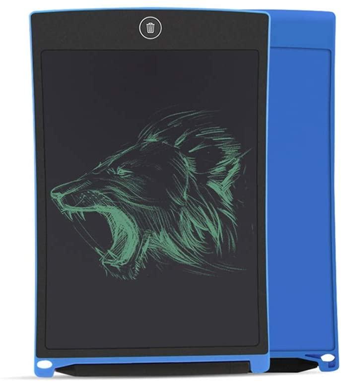 LDYOC LCD Tablet Childrens Tablet Early Learning Graffiti Light Energy Blackboard Electronic Hand-Painted Board Light Energy Blackboard 8.5 inches White ( Color : Blue )