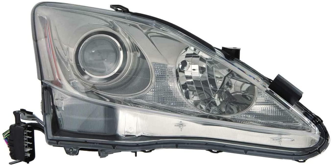 Depo 324-1101R-USD7 Headlight Assembly (LEXUS IS250/350 09-10 UNIT HALOGEN PASSENGER SIDE)