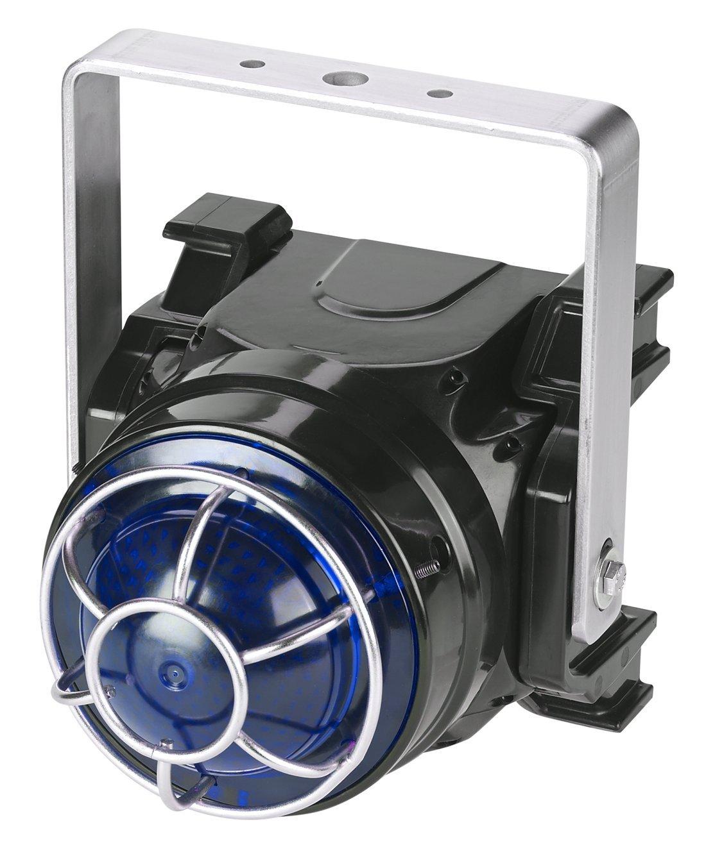 Federal Signal G-LED-DC-T-B Global Series LED Beacon, U-Bracket Mount, 24 VDC, Blue
